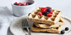 Cashew-Coconut Waffles