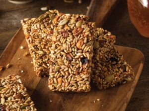 No-Bake Brain Booster Bars